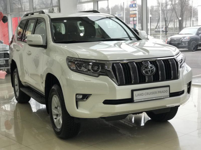 Toyota Land Cruiser Prado 2.7 AT (163 л.с.) 4WD Комфорт Плюс 55 Тойота Центр Бишкек Бишкек